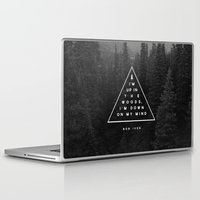 building Laptop & iPad Skins featuring Woods -- Bon Iver by Zeke Tucker