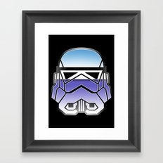 Trooper in disguise Framed Art Print