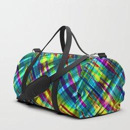 Colorful digital art splashing G72 Duffle Bag