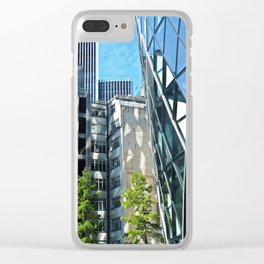 Triangle Reflections Clear iPhone Case