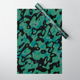 Spring Camo Wrapping Paper