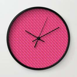 Chain Mail Wall Clock