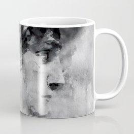 Watercolor David Michalengelo Coffee Mug