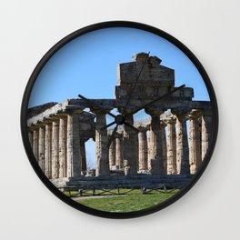 paestum Wall Clock