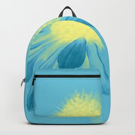 Echinacea in pastel shade Backpack