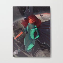 Space Fairy Metal Print