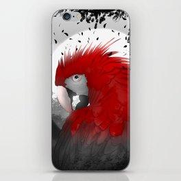 Scarlet Macaw iPhone Skin