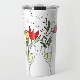 Celebrating spring! Travel Mug