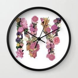 NY in bloom Wall Clock