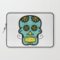 calavera Laptop Sleeves featuring Calavera  by Cody Wilkes-Booth