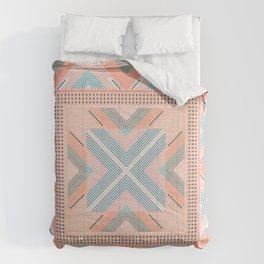 Zigzag print Comforters