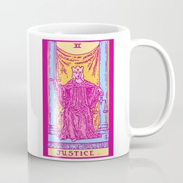 Justice - A Femme Tarot Card Coffee Mug