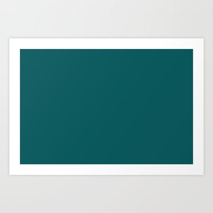Pantone 19-4524 Shaded Spruce Art Print
