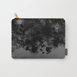 paint splatter on gradient pattern bwmb Carry-All Pouch