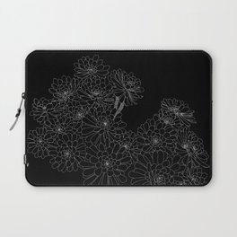 Succulent - Black Background Laptop Sleeve