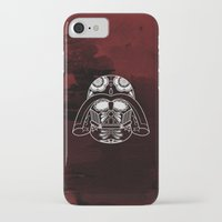 darth vader iPhone & iPod Cases featuring Darth Vader by vrdgrs