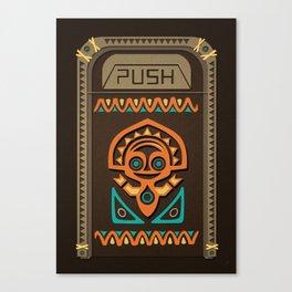 Disney's Polynesian Village - Mahalo Trash Can Canvas Print