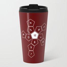 Unrolled D12 Travel Mug