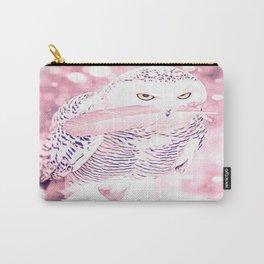 Bird Models: Fabulous Snow Owl 01-01 Carry-All Pouch
