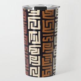 African Kuba Cloth Travel Mug