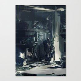 Fixing Canvas Print