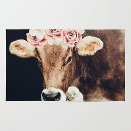 Glamour cow Rug
