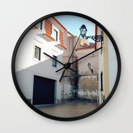 Portugal, Cascais (RR 187) Analog 6x6 odak Ektar 100 Wall Clock