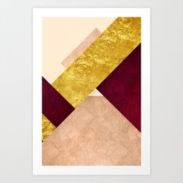 Modern Mountain No3-P3 Art Print