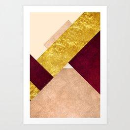 Modern Mountain No3-P3 Art Print