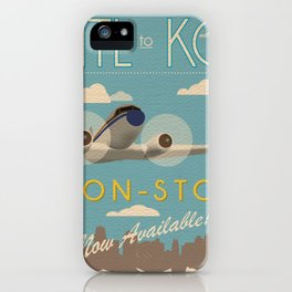 Atl to KC iPhone Case