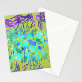 Floral Watercolor Craze Stationery Cards