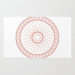 Anime Magic Circle 13 Rug