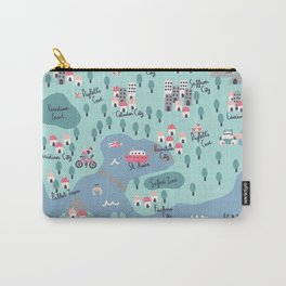 Kanto Map Carry-All Pouch
