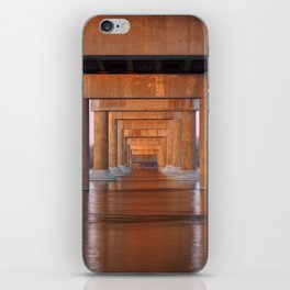 Twilight Bridge Pillars iPhone Skin