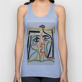 Picasso - Woman's head #1 Unisex Tank Top