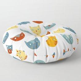 Many Cats Floor Pillow