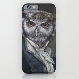 Professor Dapper iPhone Case