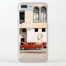 Classic  Upkeep Clear iPhone Case