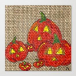 Lantern Patch Canvas Print