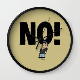 No! number 1 Wall Clock