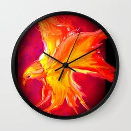 FIRE BIRD Wall Clock