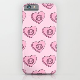 Cancer Candy Hearts iPhone Case