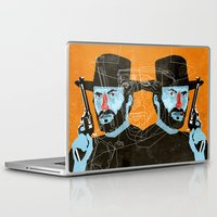 clint eastwood Laptop & iPad Skins featuring Clint Eastwood by Eduardo Guima
