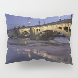 Early Morning Centre St. Bridge Pillow Sham