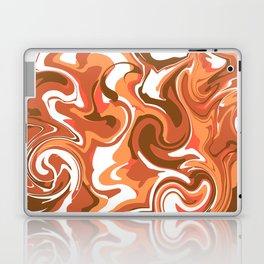 Brown marble Laptop & iPad Skin
