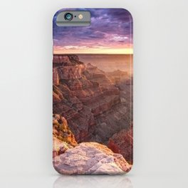Purple Sunset at the Grand Canyon iPhone Case