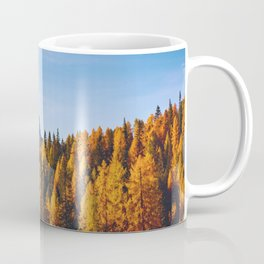 The Pine Tree Forest (Color) Coffee Mug