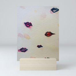 lip injection land Mini Art Print