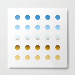 twentyfive dots o3 Metal Print