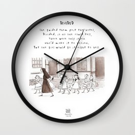Catholic School Girls Limerick Wall Clock